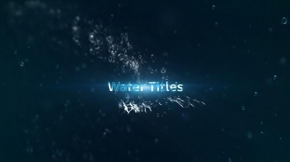 Water Titles