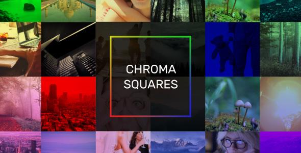 Chroma Squares Dynamic Slideshow