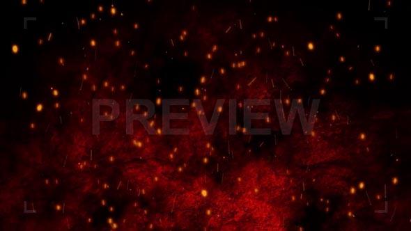 Cinematic Sparks Background