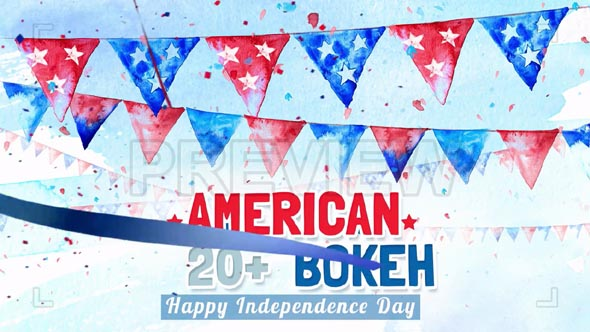 American Bokeh Background Pack