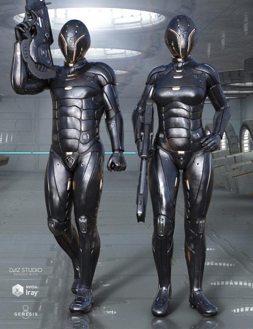 Leviathan Suit Expansion Pack for Genesis 8