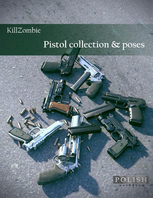 KillZombie Pistols Collection