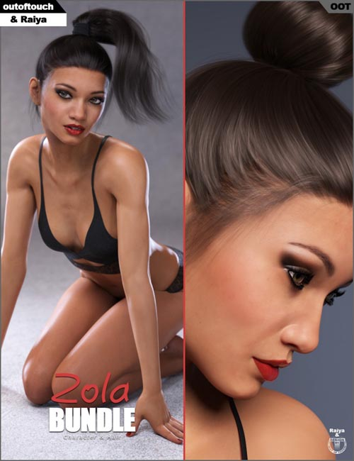 Zola Character & Hair Bundle