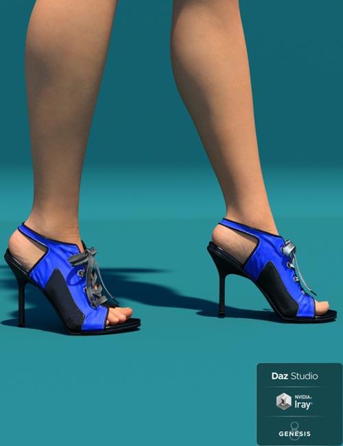 OT Sneaker Heel for Genesis 8 Female(s)