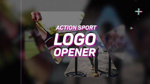 Action Sport Logo Opener