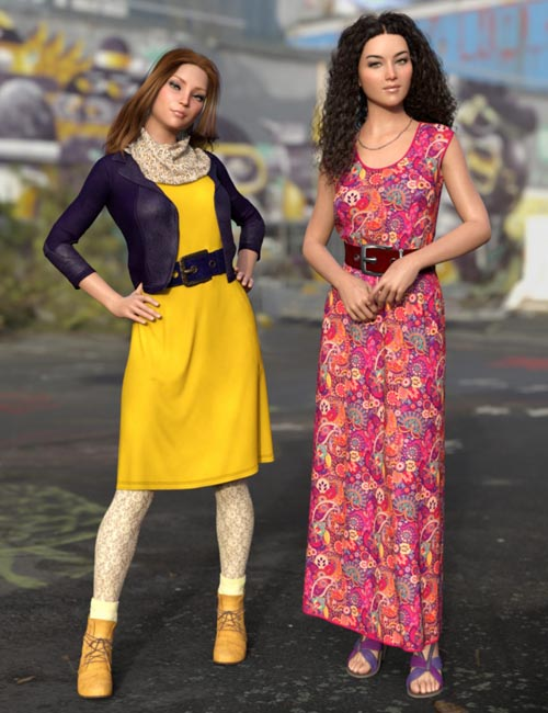 dForce All Seasons Outfit Texture Add-on