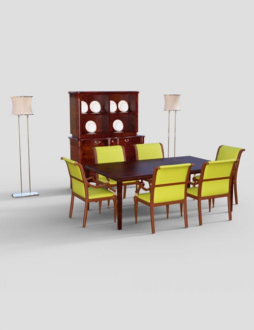 Furniture Set 2: 70's Vibe