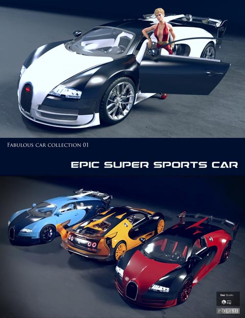 Epic Super Sports Car