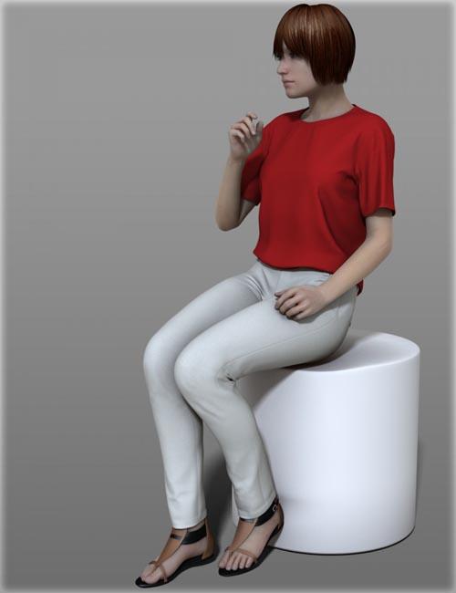 Casual Wear A for Genesis 2 Female(s)