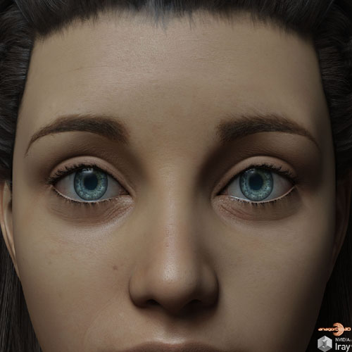 Eyes and Eyebrows Morphs G8 Vol2