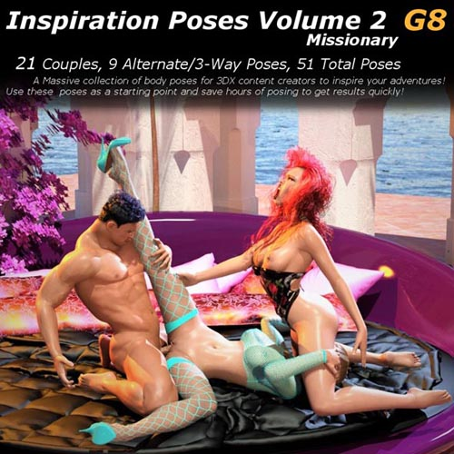 Inspiration Poses - Missionary Volume 2 G8