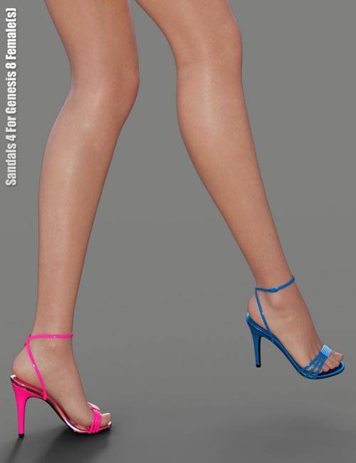 Sandals 4 for Genesis 8 Female(s)