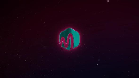 Metal Neon Logo
