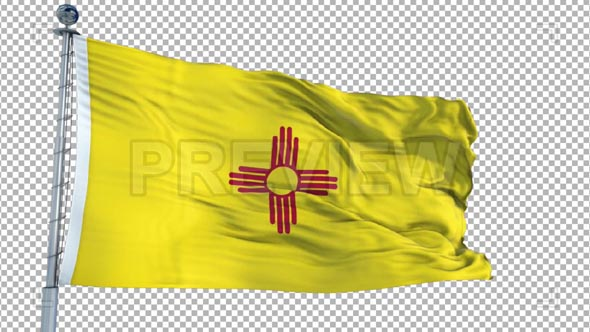 New Mexico Flag Animation