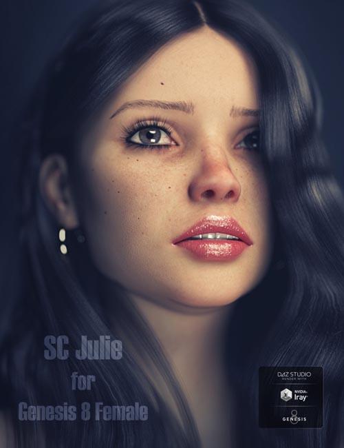 SC Julie HD for Genesis 8 Female