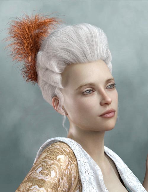 Historical Hair for Genesis 8 and 3 Female(s)