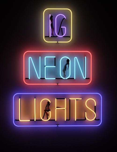 IG Iray Neon Lights