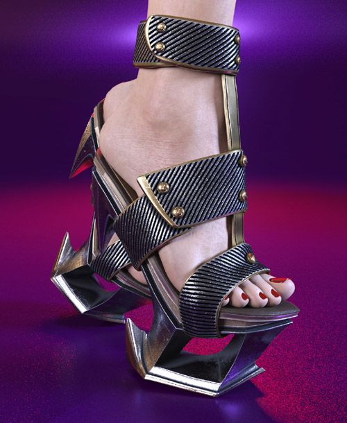 FrozenZHO PlatForm Heels for GF8