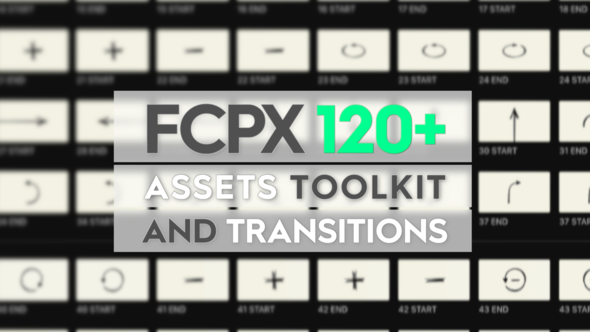 FCPX Assets Toolkit and Transitions