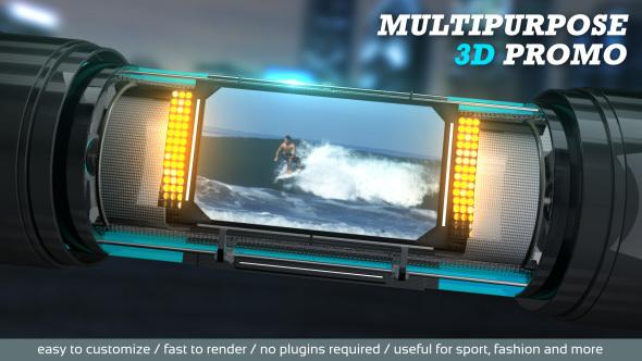 Multipurpose 3D Promo