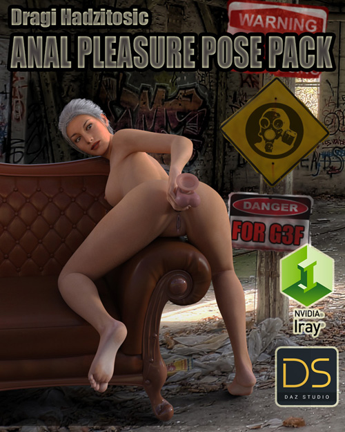 Anal Pleasure Pose Pack G3F