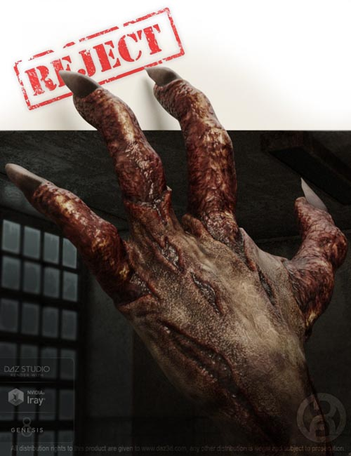 Reject for Genesis 8 Male(s)