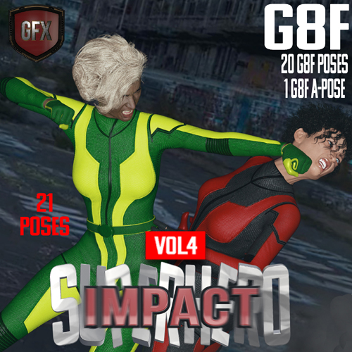 SuperHero Impact for G8F Volume 4