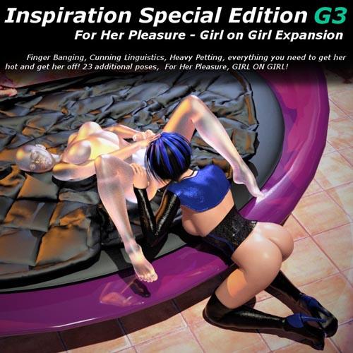 Inspiration SE For Her Pleasure Girl On Girl Add-On G3