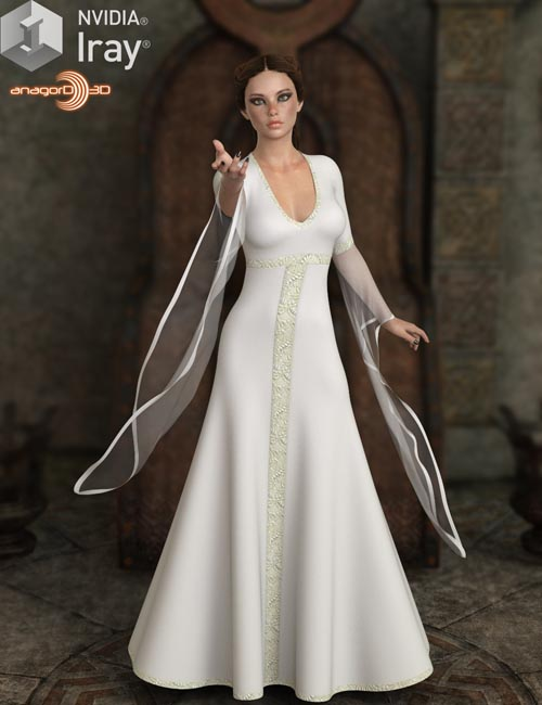 VERSUS - dForce May Gown for Genesis 8 Female