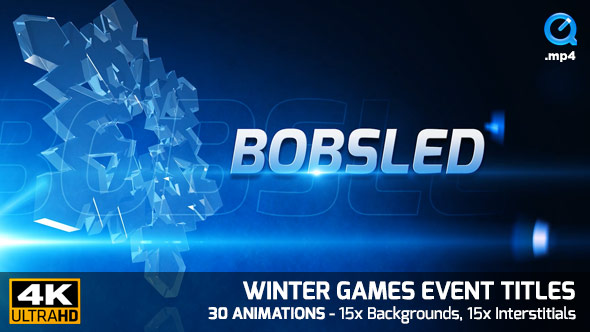 Winter Games Event Titles 4K