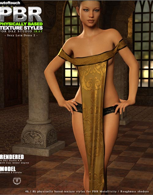 OOT PBR Texture Styles for Sexy Loin Dress 2