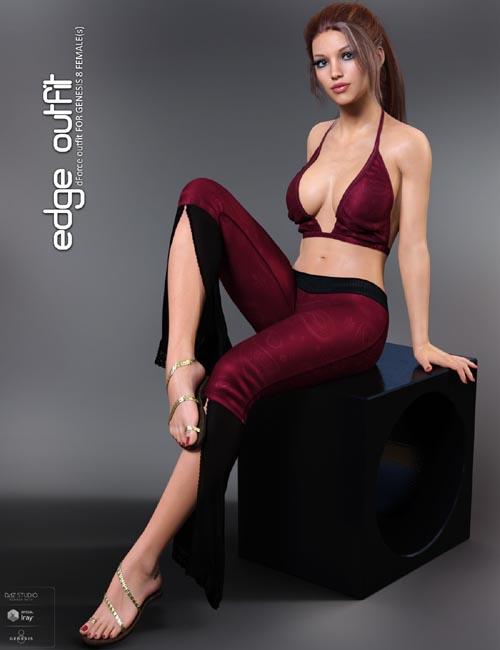 dForce Edge Outfit for Genesis 8 Females