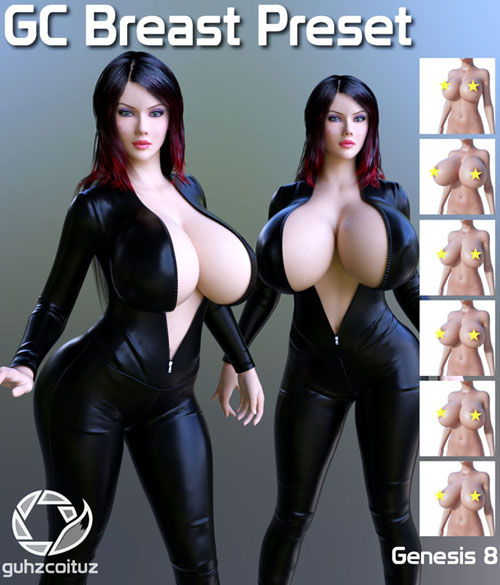 GC Breast Preset For Genesis 8 Female
