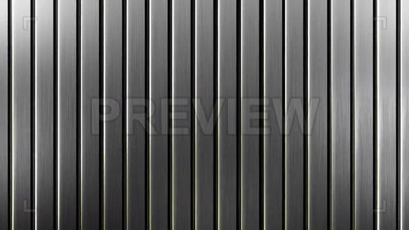 Steel Slats Background