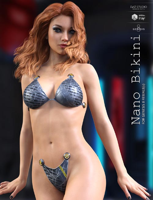 Nano Bikini for Genesis 8 Females