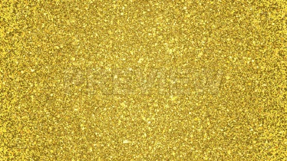 Golden Glitter Background Loop