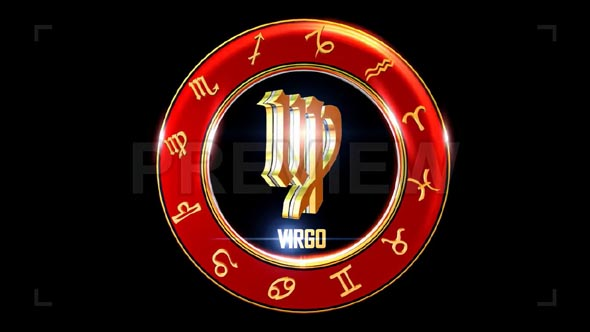 Virgo Western Zodiac Symbol