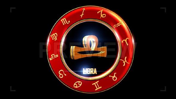 Libra Western Zodiac Symbol