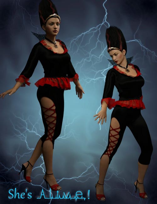 MadBride Outfit for Genesis 3 Female(s)