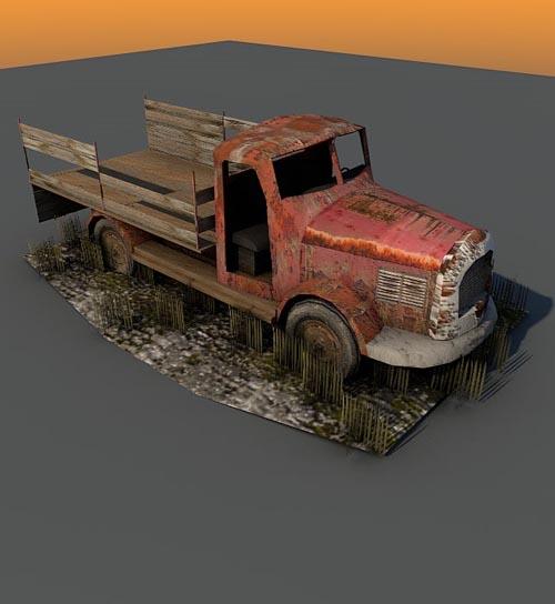 Truck ruin