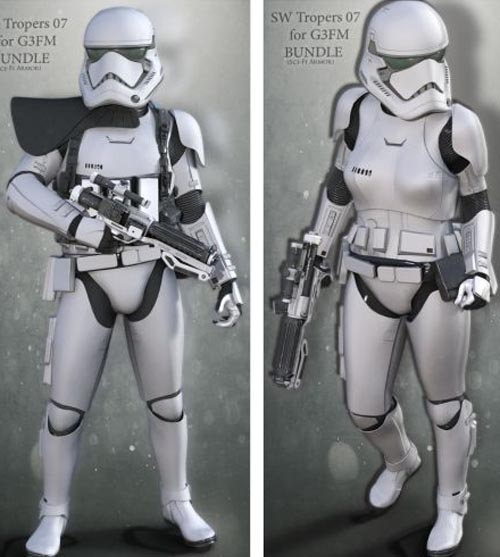 SW Troopers Bundle 07 for G3