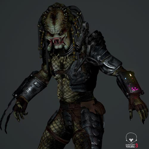 Fan Art Predator Real Time Character