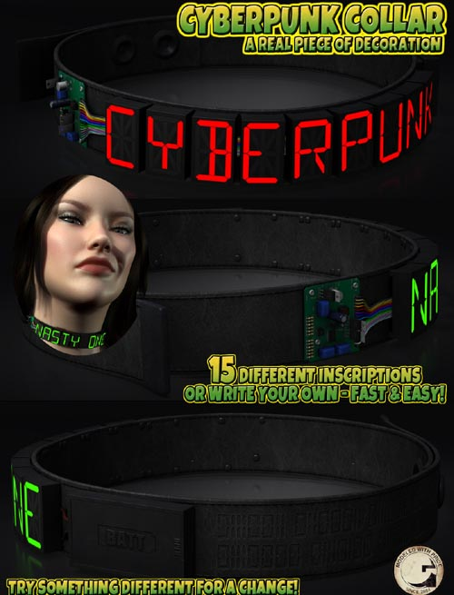 Cyberpunk Collar