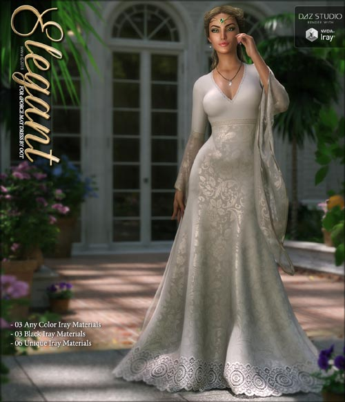 Elegant for dForce May Gown