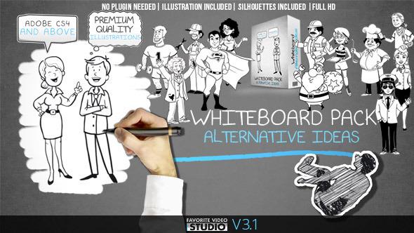 Whiteboard: Alternative Ideas