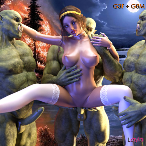 Orc Orgy G3F
