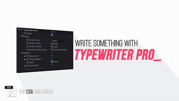 Typewriter Pro