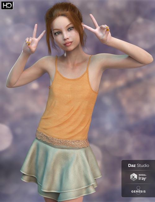 Olivia HD for Genesis 8 Female