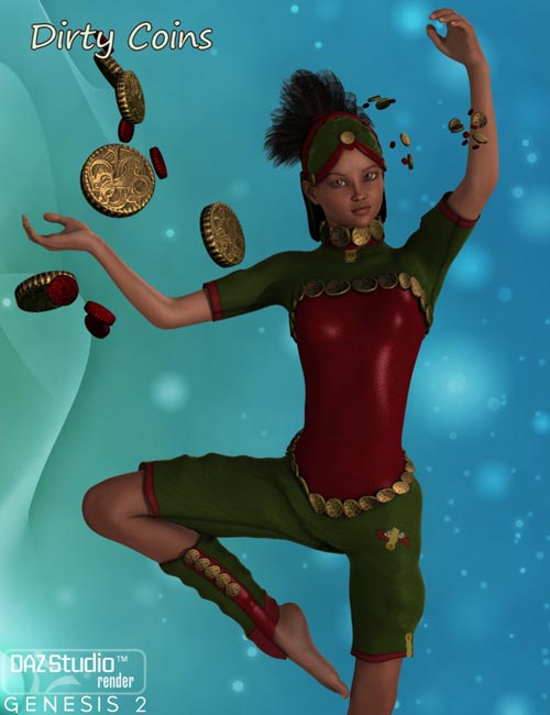 Dirty Coins for Genesis 2 Female(s)