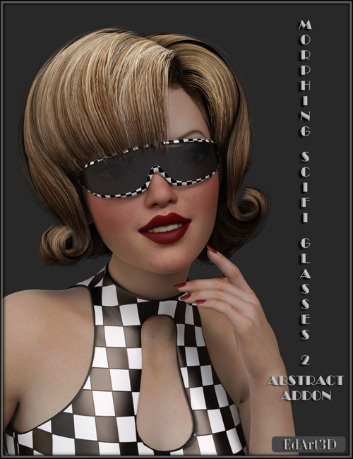 Morphing SciFi Glasses 2 Abstract AddOn
